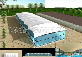 游泳场膜结构4035