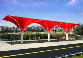 公园膜结构大门5011