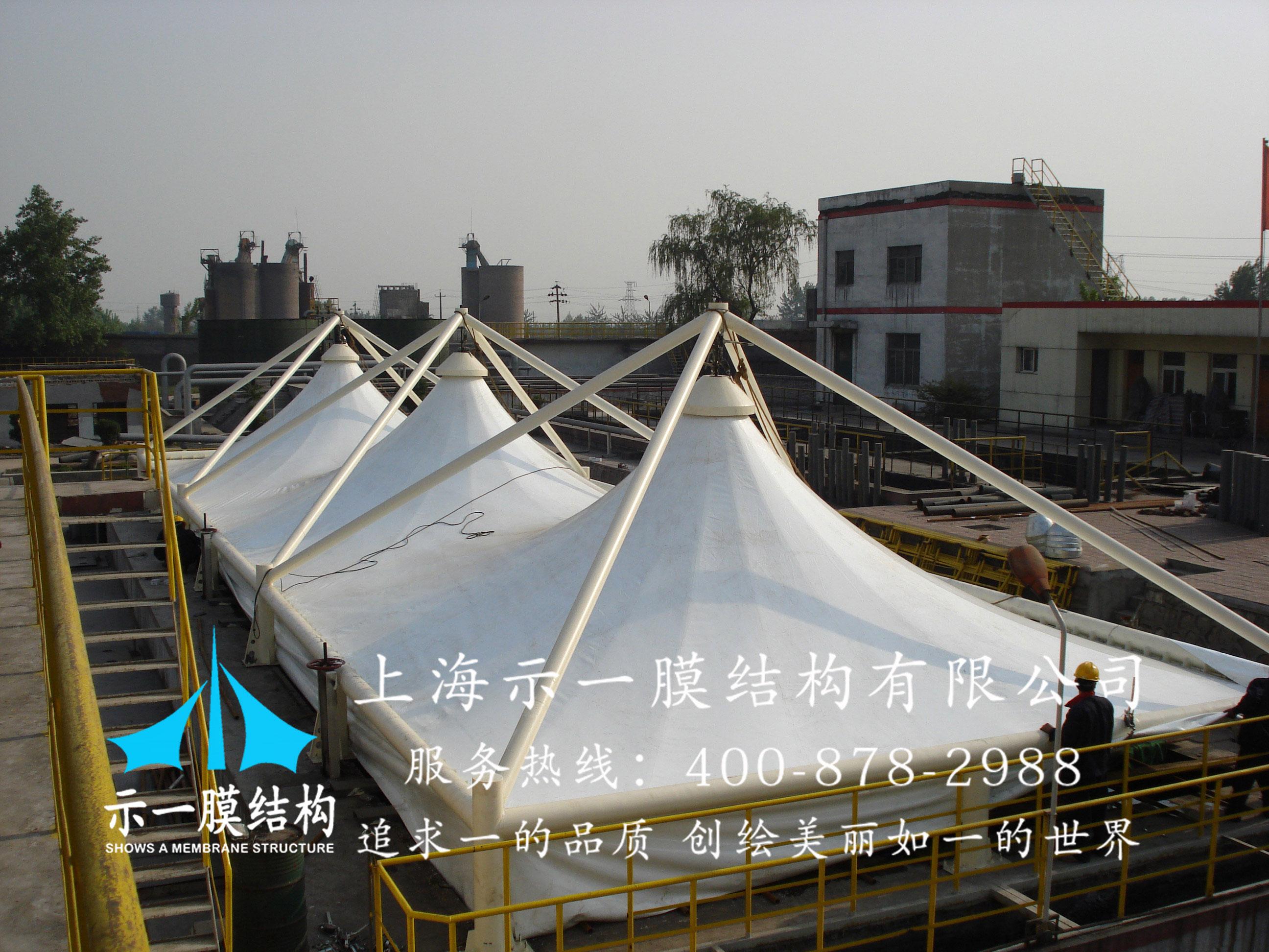 污水池加盖膜结构10304