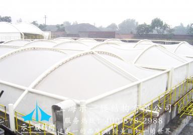 污水池加盖膜结构10302