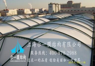 污水池加盖膜结构10306