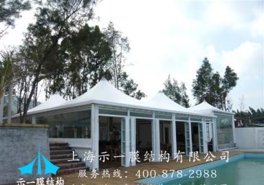 游泳池膜结构10302