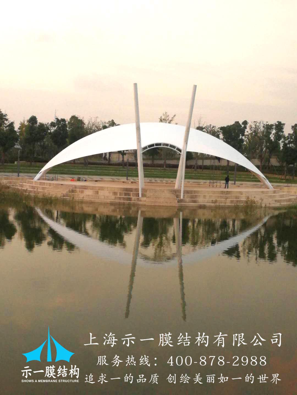 吴江天鹅图膜结构景观10313