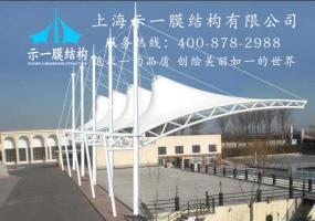 膜结构遮阳棚设施10313