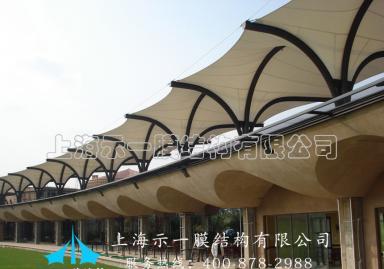 膜结构步行街屋顶棚103138