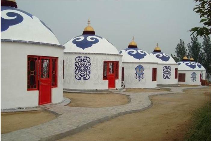 帐篷装饰膜结构