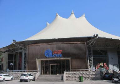 屋顶膜结构顶棚