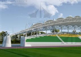 体育场馆膜结构072504