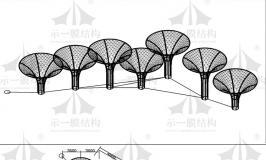 在上海示一膜结构设计成套钢结构图纸,费用大约多少?