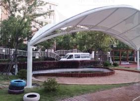 上海示一膜结构浦东南门幼儿园膜结构