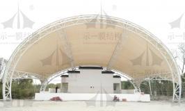 年底的舞台膜结构是焦点