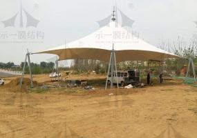 上海示一膜结构河南漯河张拉膜工程