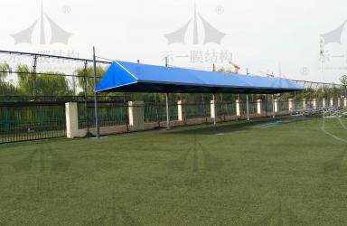 上海示一膜结构上海英国学校膜结构遮阳棚