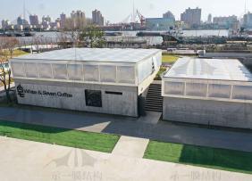 上海示一膜结构浦江充气枕主体木结构工程